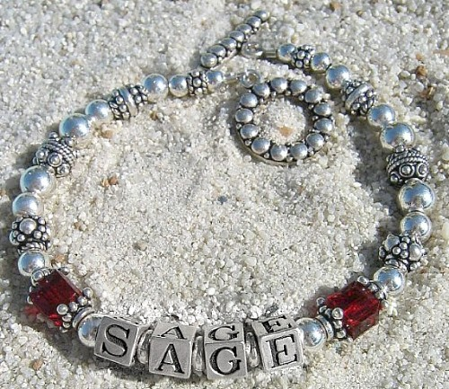 Mommy Bracelet, Personalize Name Bracelet, Mom Bracelet